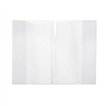 9 X 7 CONTACT CLEAR BOOK SLEEVES PKT5