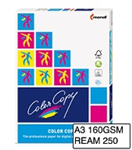 COLOR COPY A3 LASER PAPER 160GSM  WHITE REAM 250