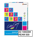 COLOR COPY A3 LASER PAPER 100GSM WHITE REAM 500