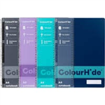 COLOURHIDE NOTEBOOK A4 120PG