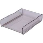 ESSELTE MOULDED NOUVEAU DOCUMENT TRAY SMOKE