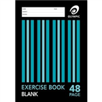 48 PAGE UNRULED PLAIN A4 EXERCISE BOOK