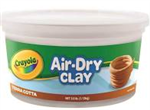 113KG AIR DRY CLAY  TERRACOTTA IN REUSABLE STORAGE TUB
