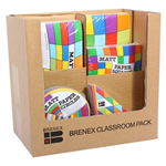 ASSORTED KINDER CIRCLES  SQUARES CLASSROOM PK 1800