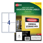 LABEL AVERY LASER L7069 PARCEL HD 991X1390 4UP PK25