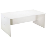 1500MMW X 750MMD X 730MMH RECTANGULAR DESK WHITE