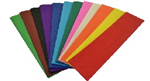 ASSORTED CREPE PAPER 500MM X 25M PK 12
