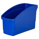 BLUE PLASTIC BOOK TUB