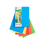 A4 BRIGHT ASSORTED 80GSM QUILL PAPER PACK 500